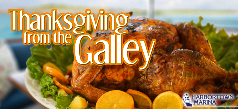 boating - Cooking a Thanksgiving Turkey in Your Galley Using a Dutch Oven